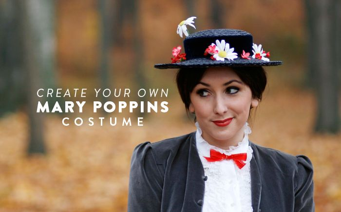 I found almost everything I needed for a Mary Poppins costume right in my own closet and at my local thrift store and you can too!  sc 1 st  Pinterest & Create Your Own Mary Poppins Costume | Mary poppins Local thrift ...