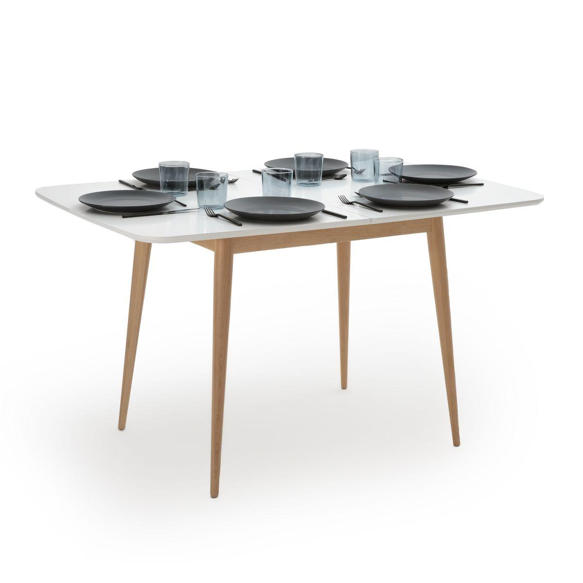 Table A Manger A Allonge 2 A 6 Personnes Jimi Taille 10 Pers Table A Manger Table Cuisine Et Table Repas