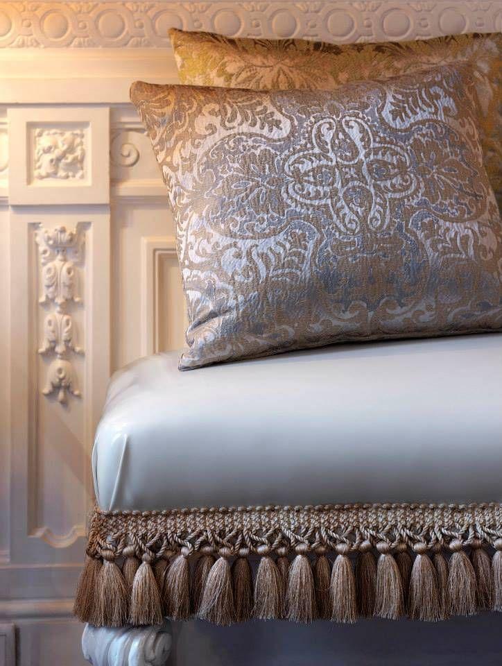 Telas para tapizar hacer cojines cortinas y colchas - Cojines para sillas ...