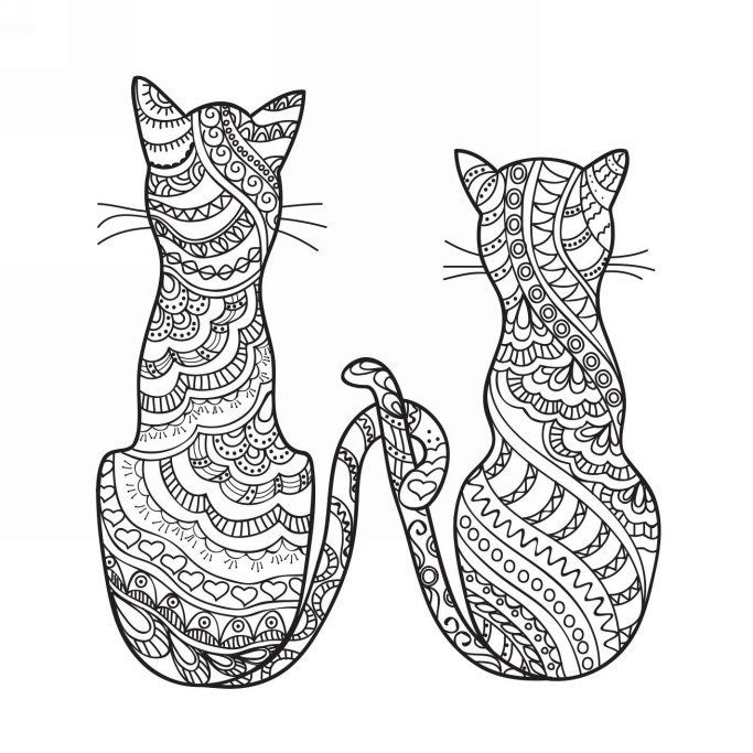 Do You Love Cats?: 30 Lovely Cat Patterns to color - Kindle edition ...