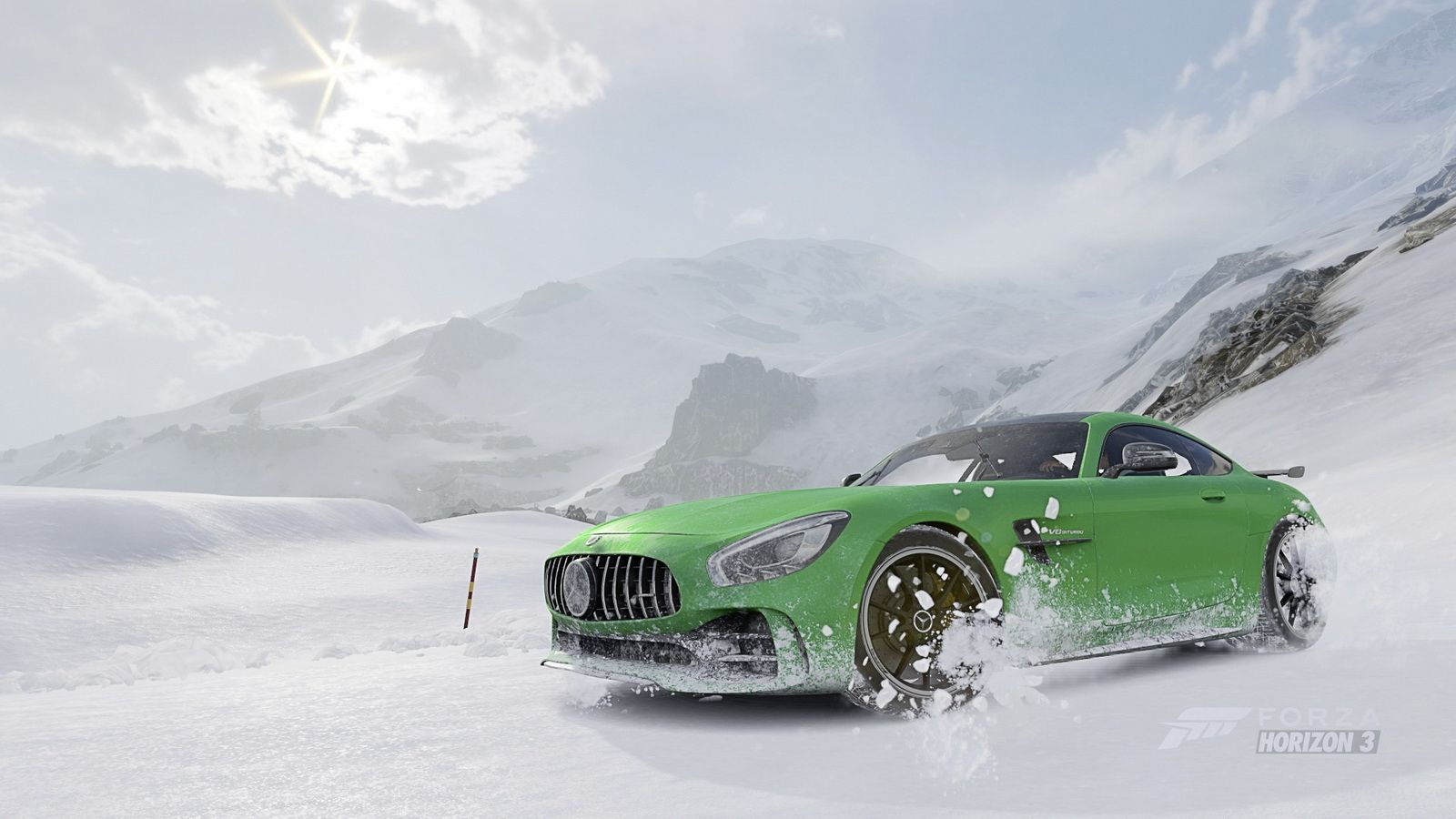 Forza Horizon 3 Snow Drift Challenge Lets You Unleash The Mercedes Amg Gt R