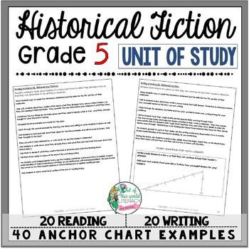 Historical Fiction Reading & Writing Unit Grade 5: 2nd