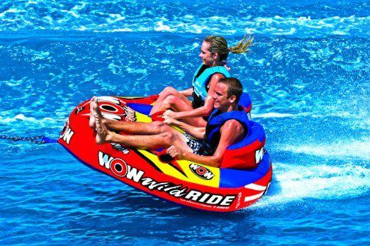 Amazon Com Wow Sports Wild Ride Towable Waterskiing Towables Sports Outdoors Water Skiing Outdoor Pool Float