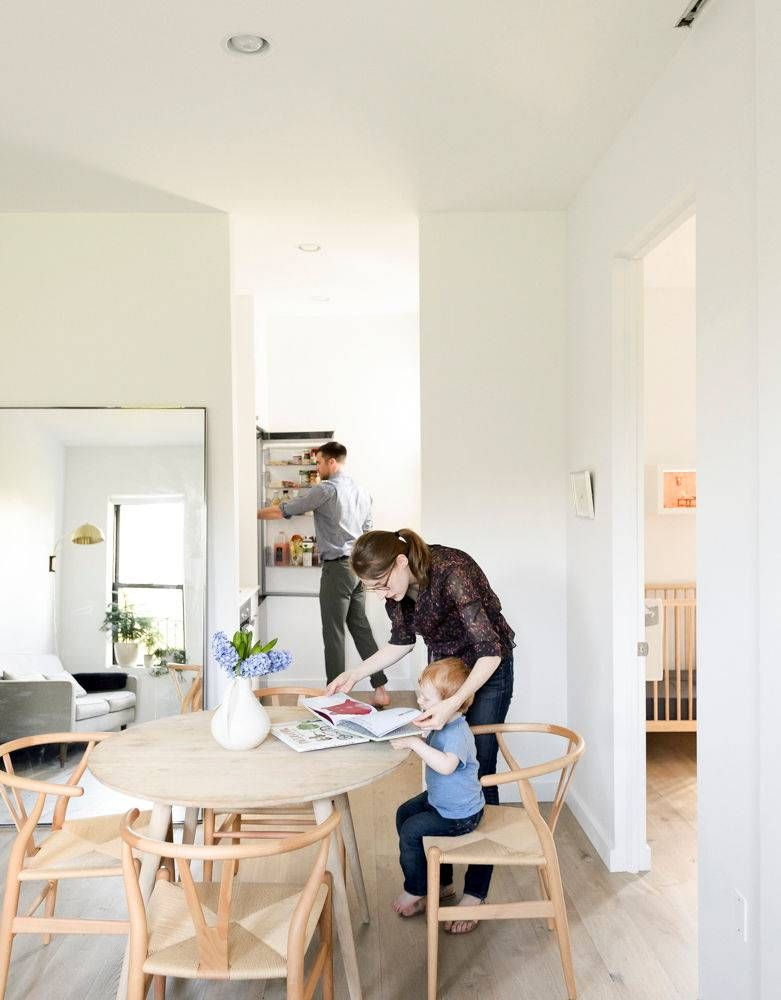 Brooklyn Remodeling Style Collection before & after: smart, spaceconscious style in brooklyn | schmidt