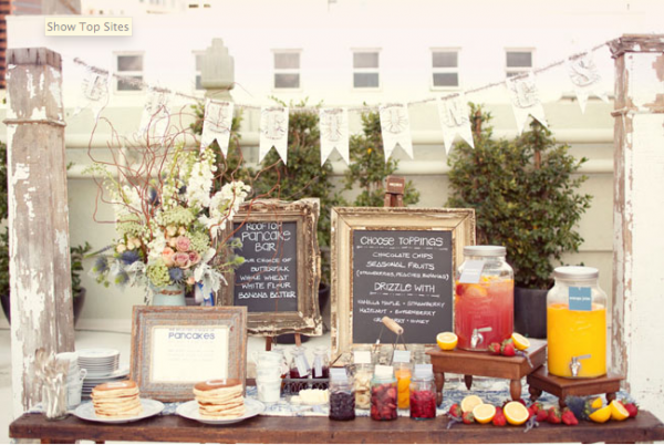 Wedding Reception Food Ideas On A Budget Fun Breakfast