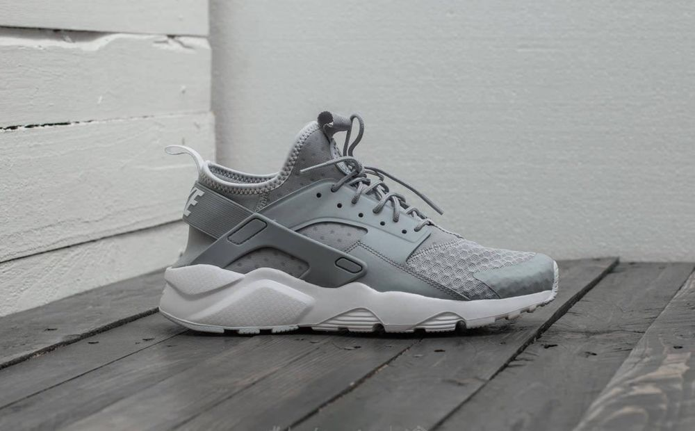 2338b9d440d NIKE AIR HUARACHE RUN ULTRA - WOLF PALE GREY 819685-007 TRAINERS IN ALL  SIZES  Nike  RunningShoes