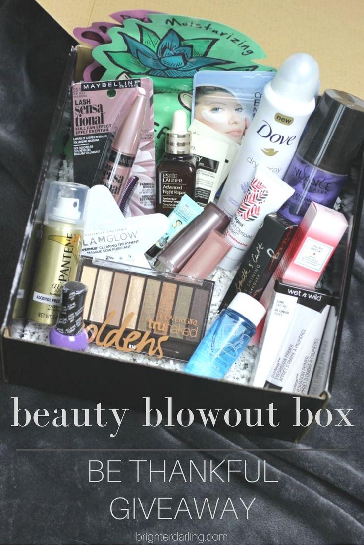 Beauty Blowout Box Giveaway