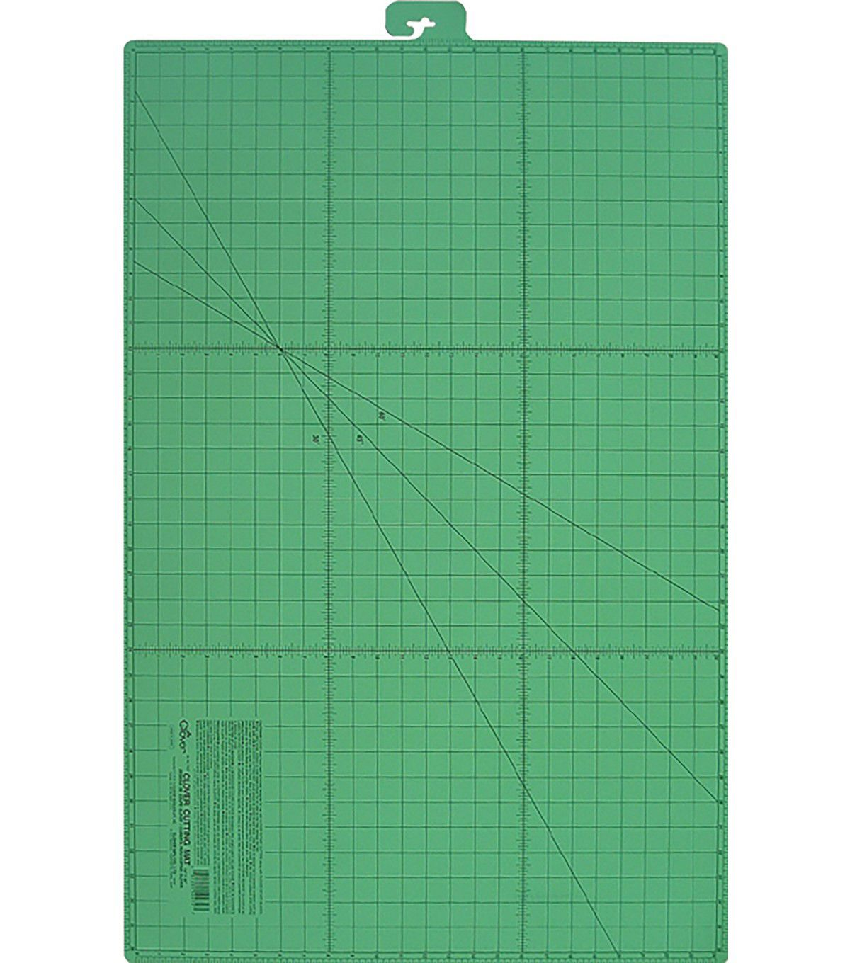 Clover Triple Layer Self Healing Cutting Mat Large 24 X36