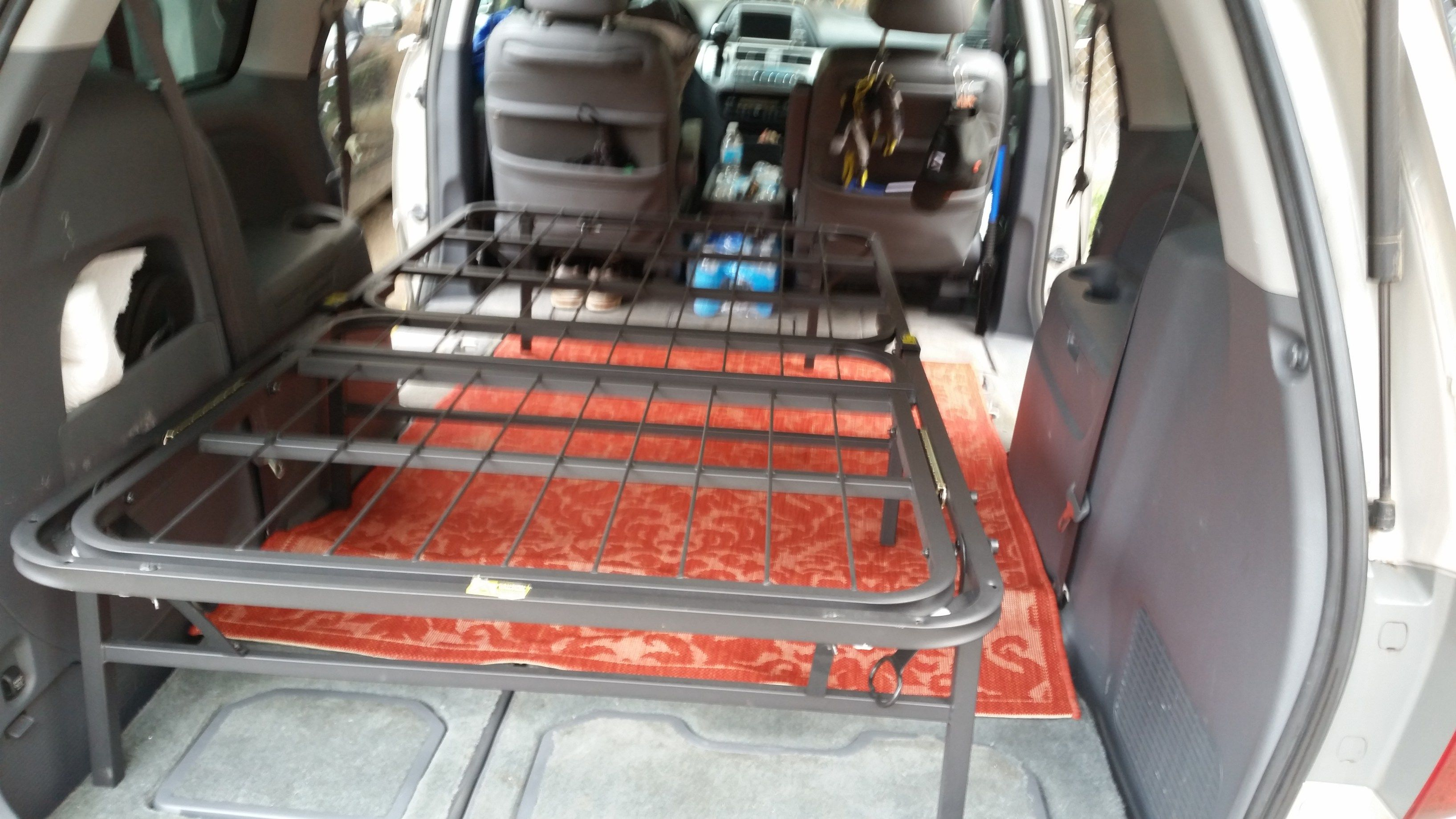 Quick Cheap And Easy Diy Mini Van Camper Conversion Be On The Road