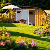 Glamping Pods in Bude, North Cornwall     (01288 355288 / www.atlanticsurfpods.co.uk)