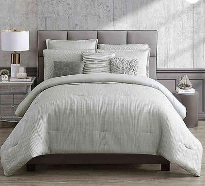 Hotel Nollie 9 Piece Comforter Set Bed Bath Beyond Comforter Sets Bedding Sets King Comforter Sets