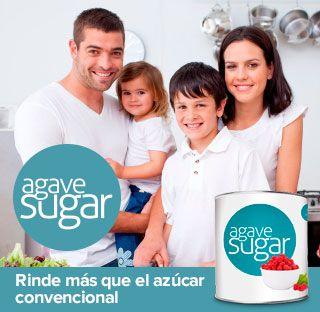 El Azúcar de Agave rinde más que el azúcar convencional