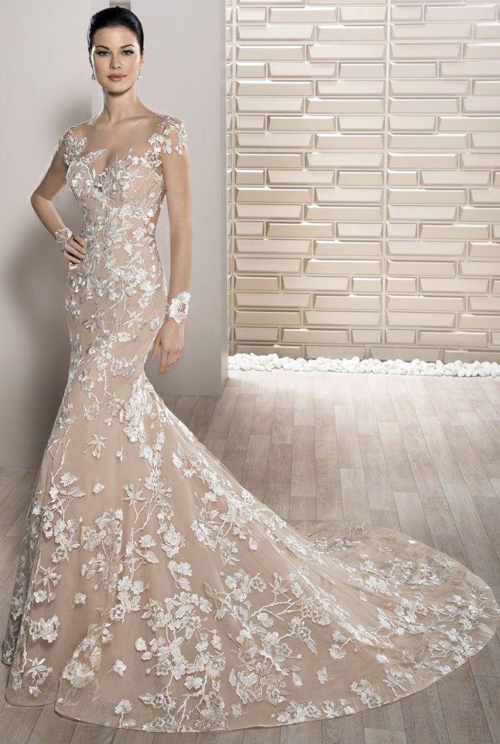 Demetrios Wedding Dresses 2017 { Cap sleeve wedding dress } itakeyou.co.uk #weddingdress #weddinggown #bridalgown #bridaldress