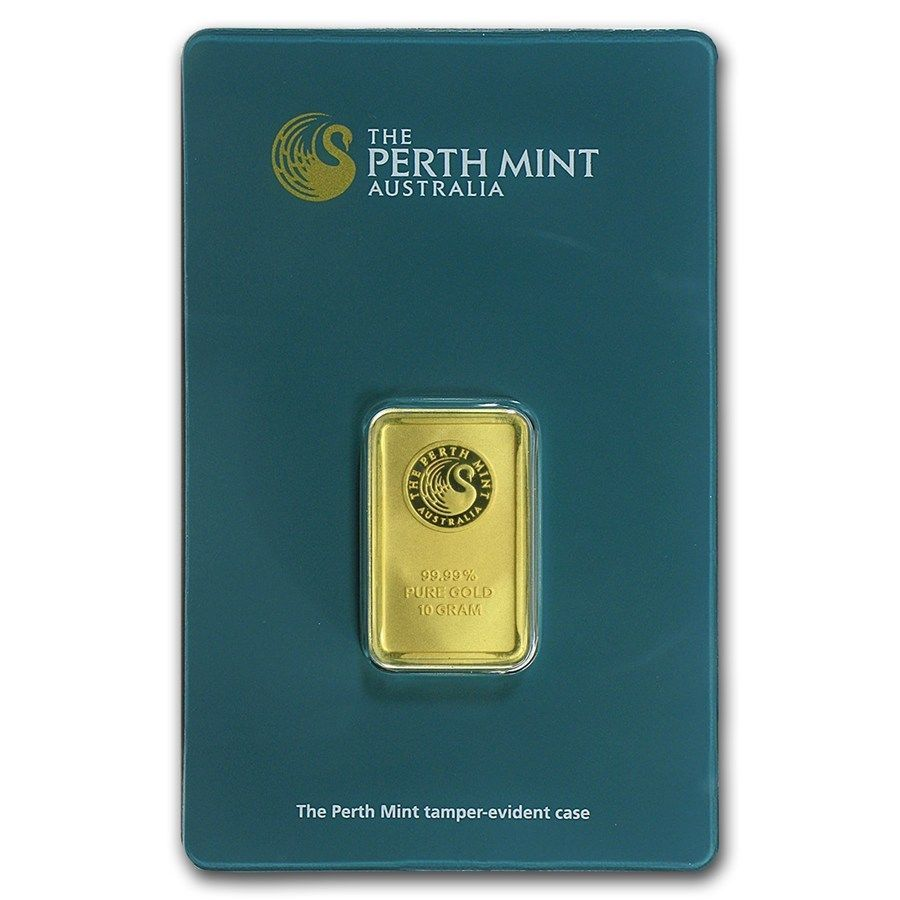 Details About 10 Gram Gold Bar Perth Mint In Assay Sku 57162 Gold Bars For Sale Gold Bar Gold