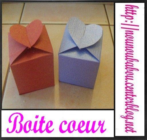 Gabarit boite carterie pinterest boite gabarit et coeur - Gabarit boite en papier ...