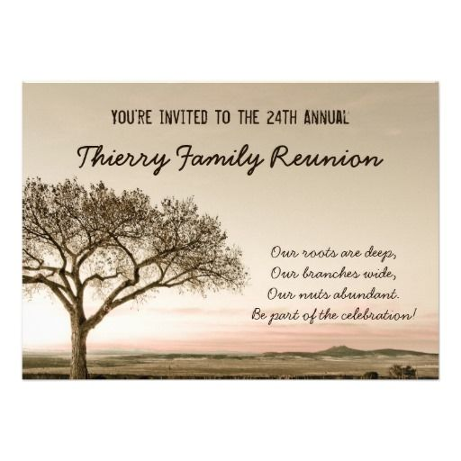 Family Reunion Invitation Letter Sample reunion time – Family Gathering Invitation Wording