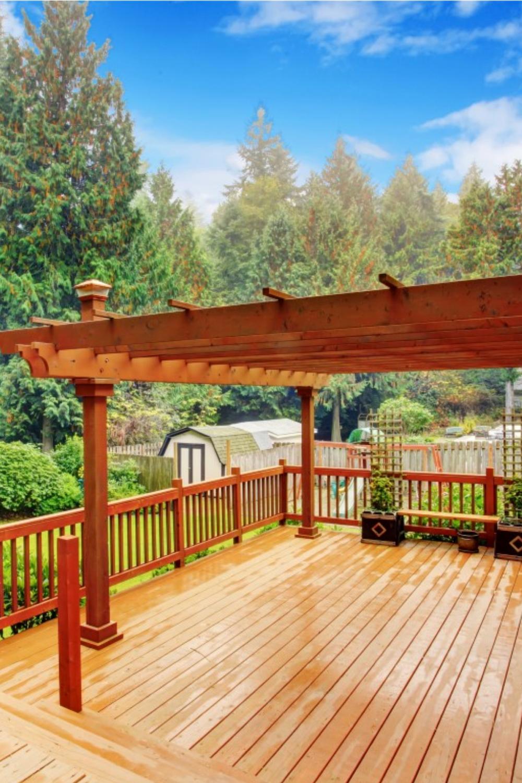 Autorisations Pour La Construction D Une Pergola Pergola Construire Une Pergola Terrasse Faite Maison