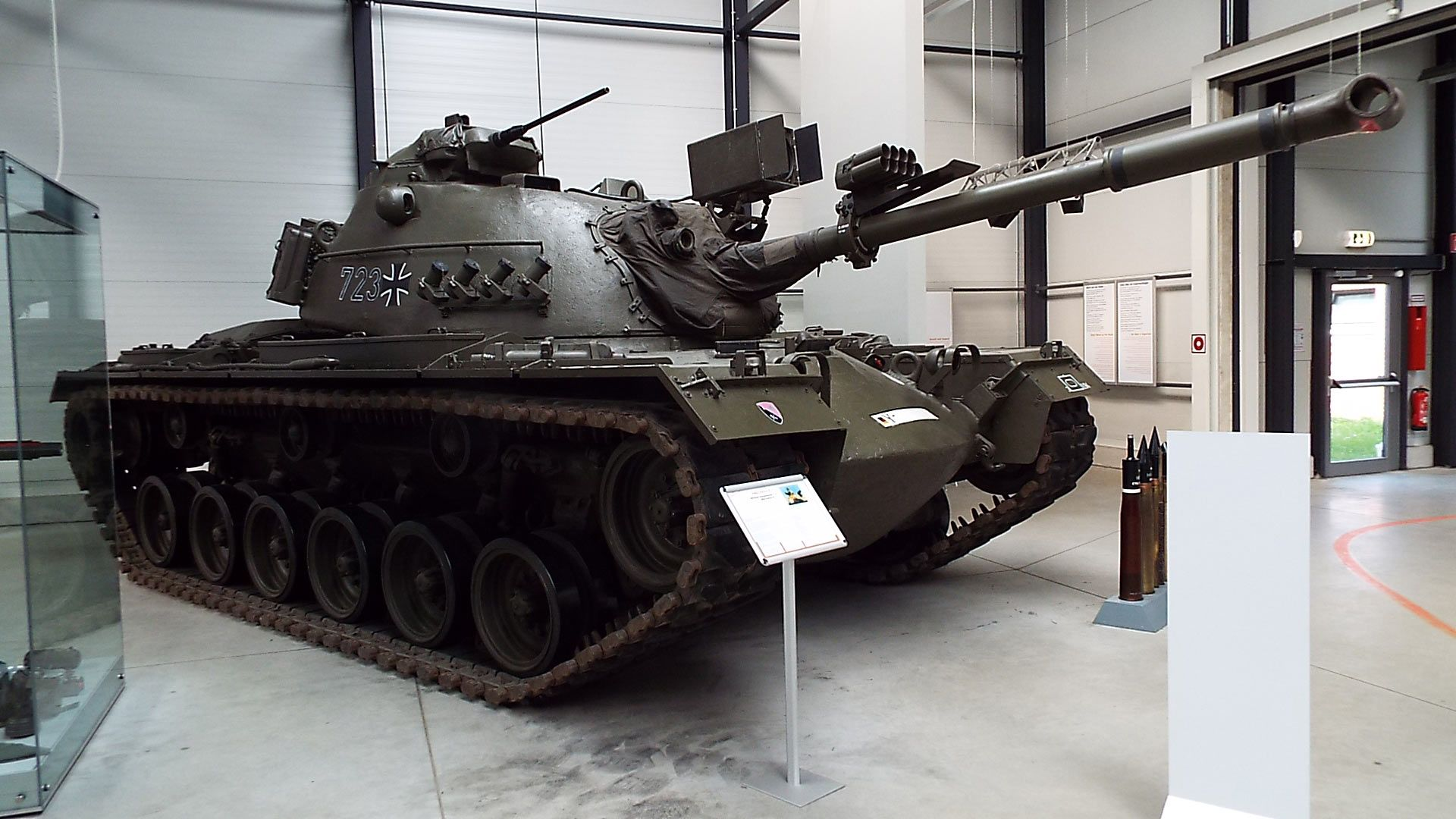 US M Patton II Tank  Panzer Museum Munster Military - Military museums in us