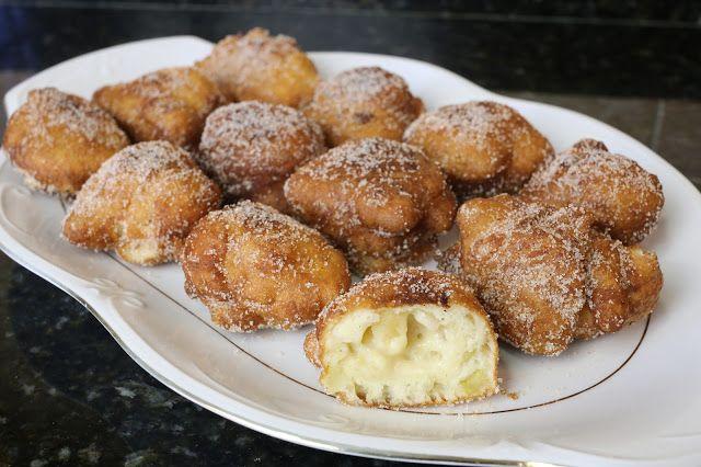 Buena cocina mediterranea: Buñuelos de manzana