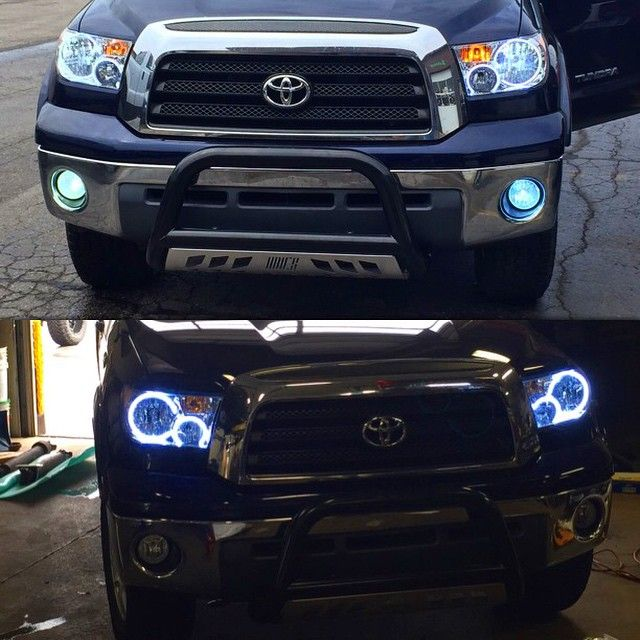 New oracle halos oracle hid kits and aries bull bar on this tundra new oracle halos oracle hid kits and aries bull bar on this tundra venom mozeypictures Image collections