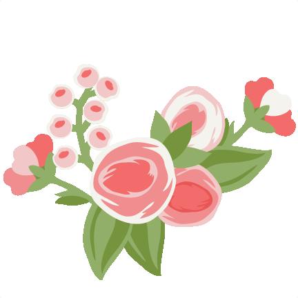Daily Freebie 1-25-15: Miss Kate Cuttables--Pretty Flower ...