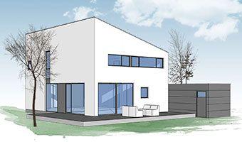 Neues wohnen im cubig designhaus minihaus modulhaus for Mobiles wohnen im minihaus
