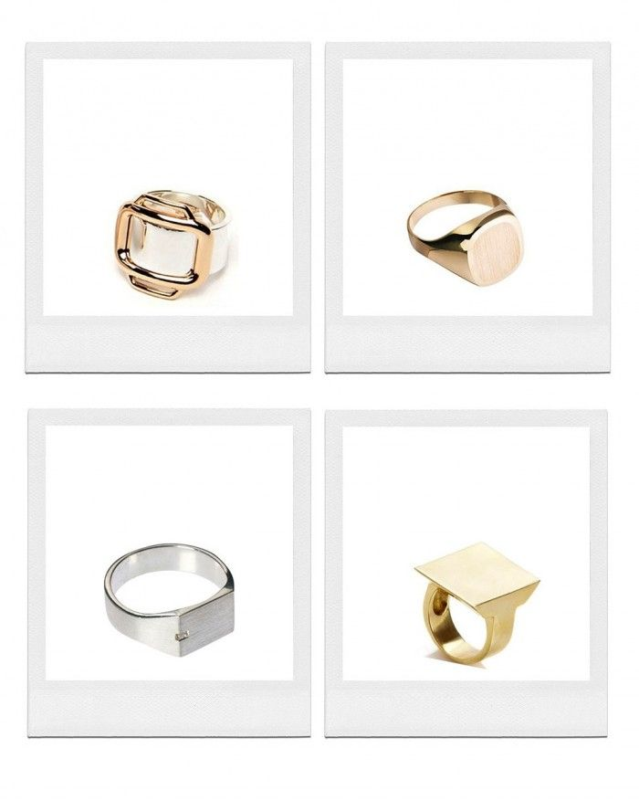 We have Signet Rings on our minds… Discover which ones on The Wall of www.elin-kling.com