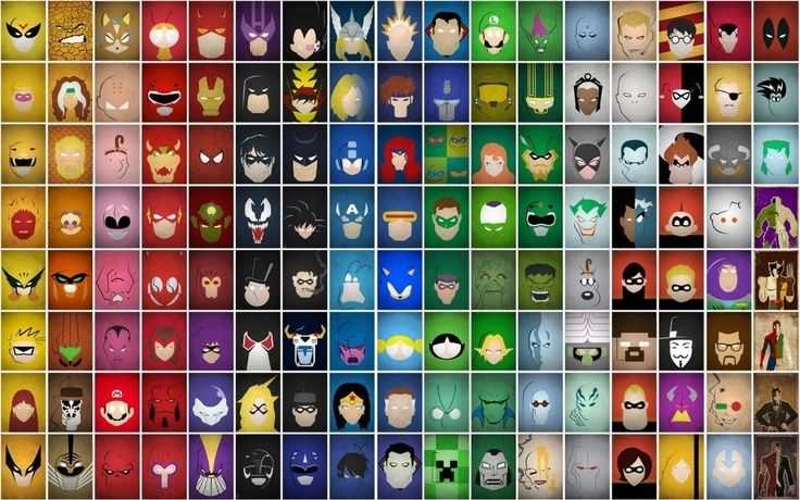 Periodic table of super heroes man cave superhero themes periodic table of super heroes urtaz Image collections