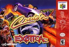Cruis N Exotica Nintendo Juego De Video Y Juegos Retro