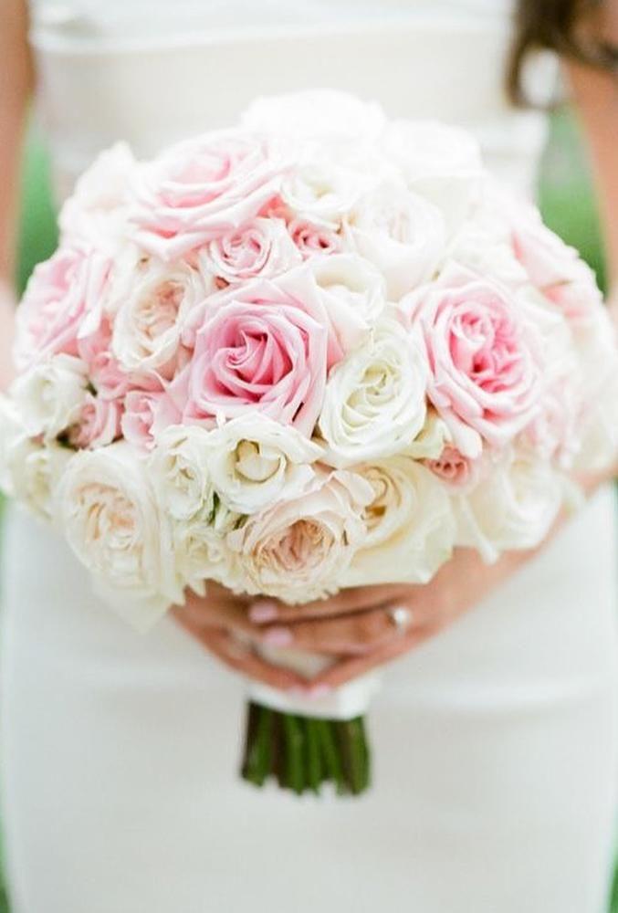 5 Popular Bridal Bouquet Shapes & Styles #rosebridalbouquet