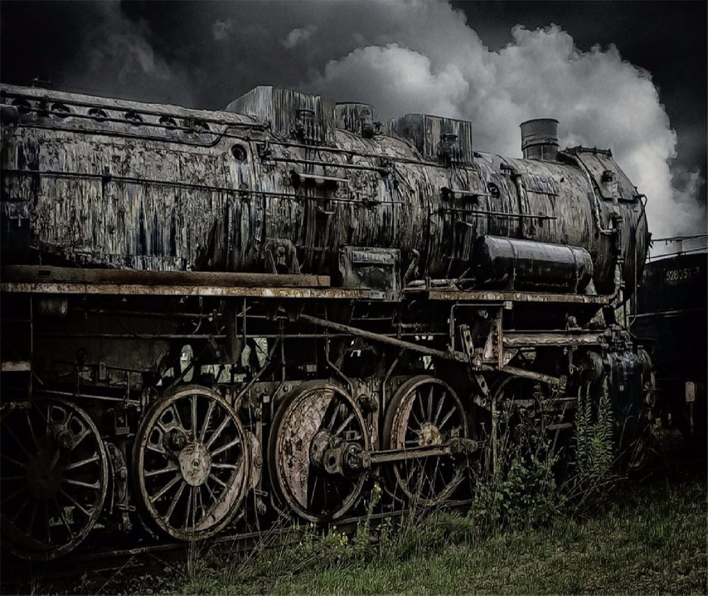 ANTIQUE STEAM ENGINE TRAIN #5 COMPUTER MOUSE PAD 9 X 7  #UnbrandedGeneric