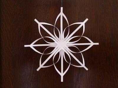 how to make a christmas star step by step