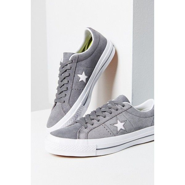 Converse One Star Premium Suede Sneaker ($60) ❤ liked on