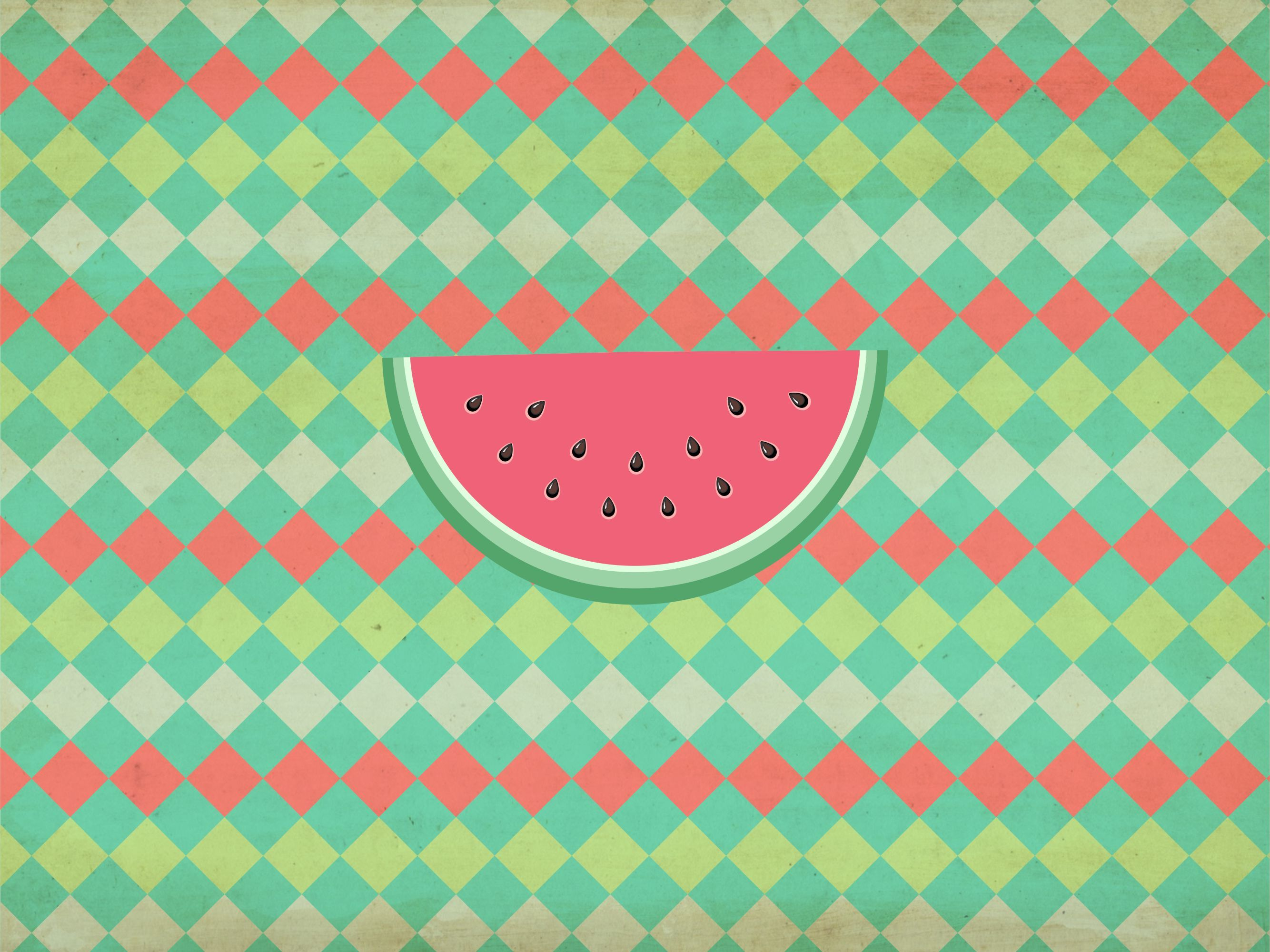watermelon wallpaper for ipads and tablet so sweet and cute.feel