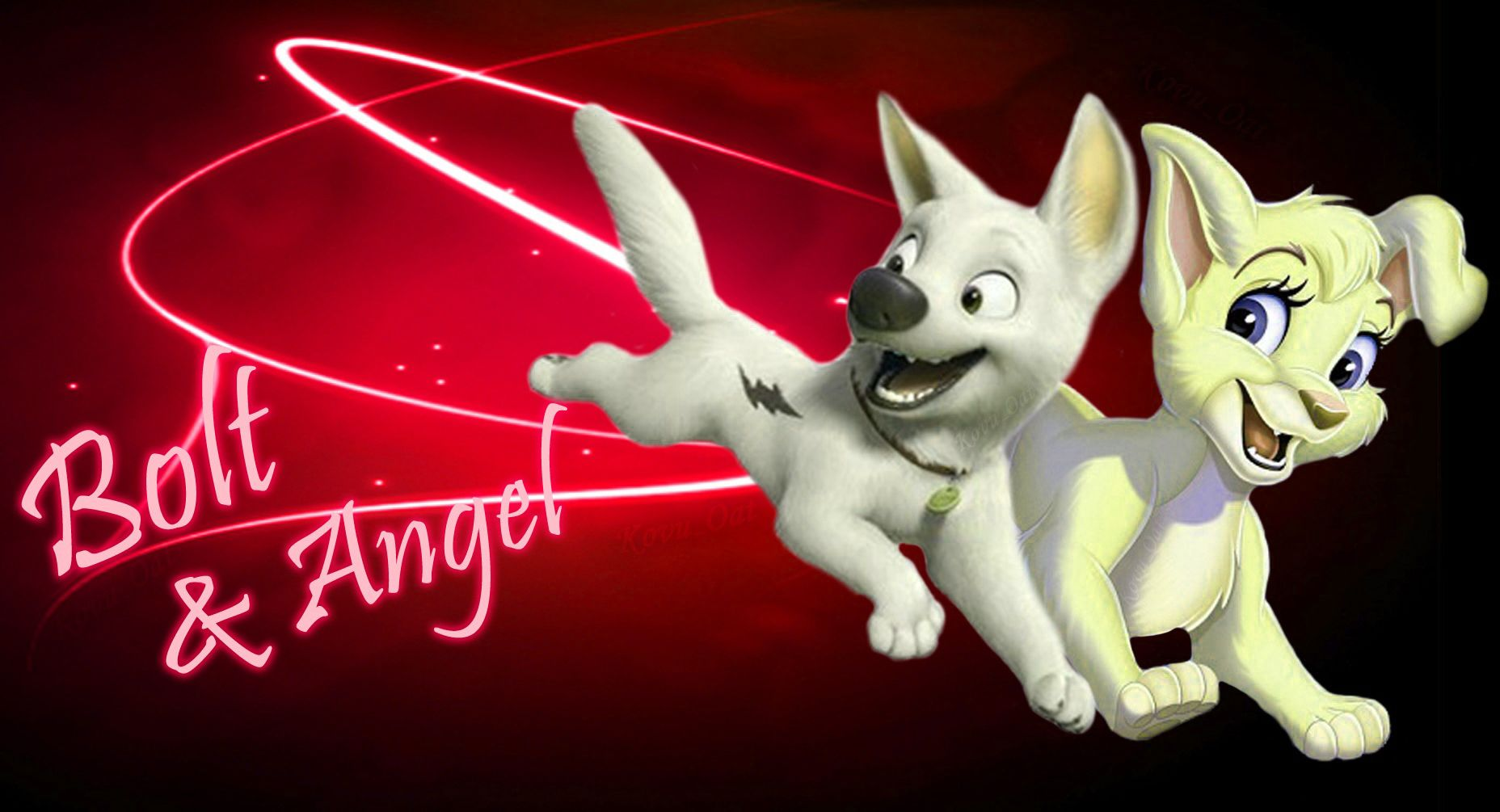 Disney angel and bolt cute love hd wallpapers love couples disney angel and bolt cute love hd wallpapers voltagebd Images