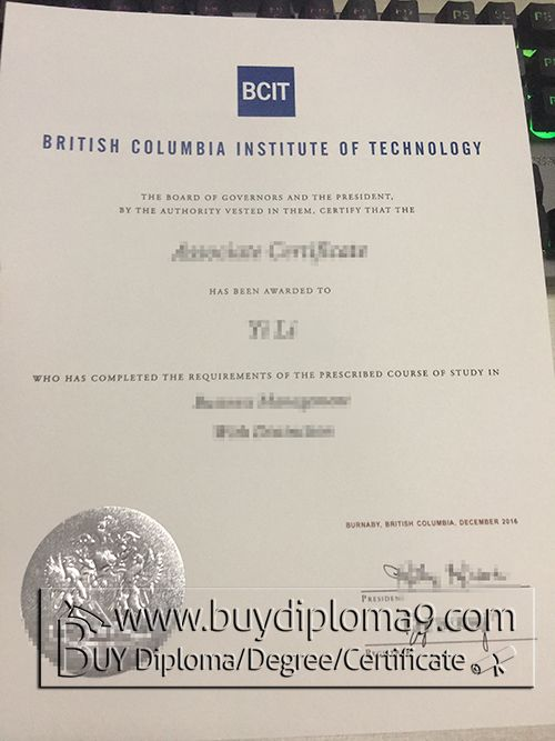 BCIT degree, Buy diploma, buy college diploma,buy university diploma ...