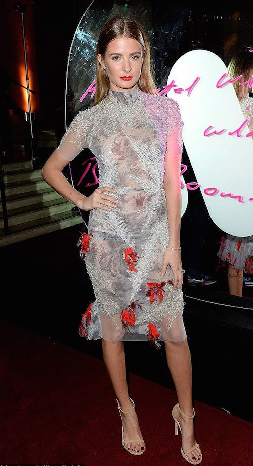 Millie Mackintosh Stole The Show With Her High Neck Dress