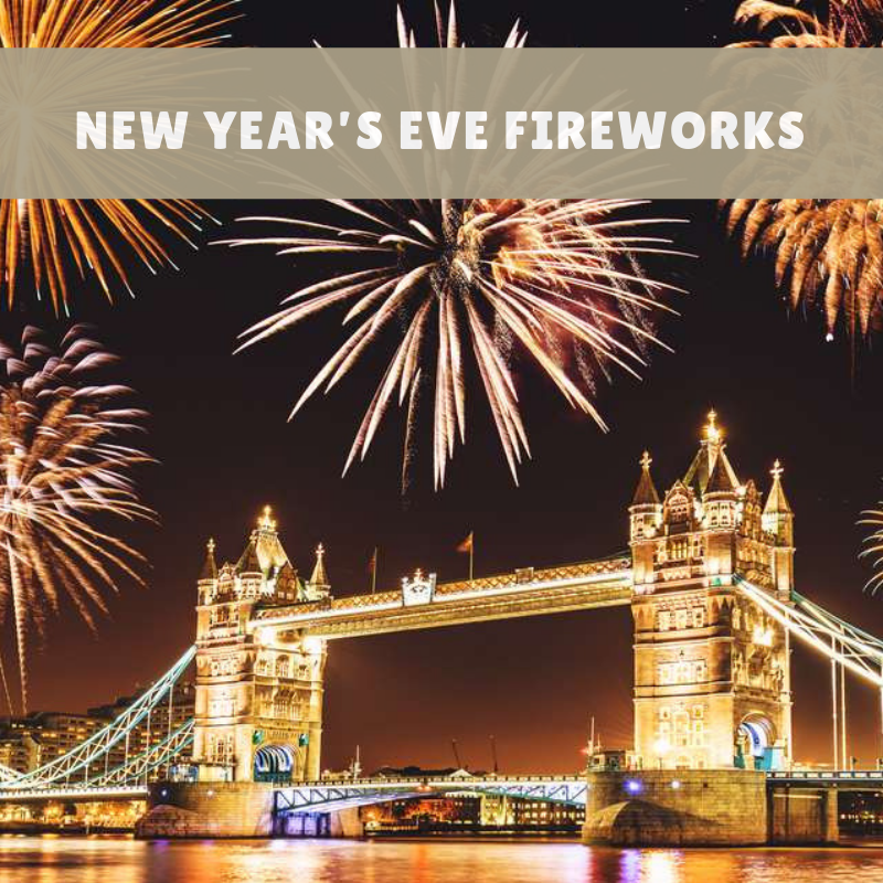 Top Places to See London's New Year's Eve Fireworks