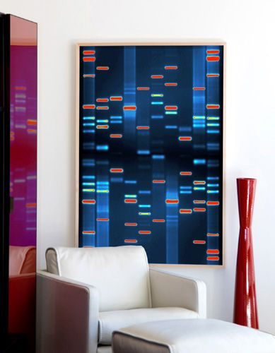 Beautiful art inspired by your genetic makeup - My Modern Metropolis