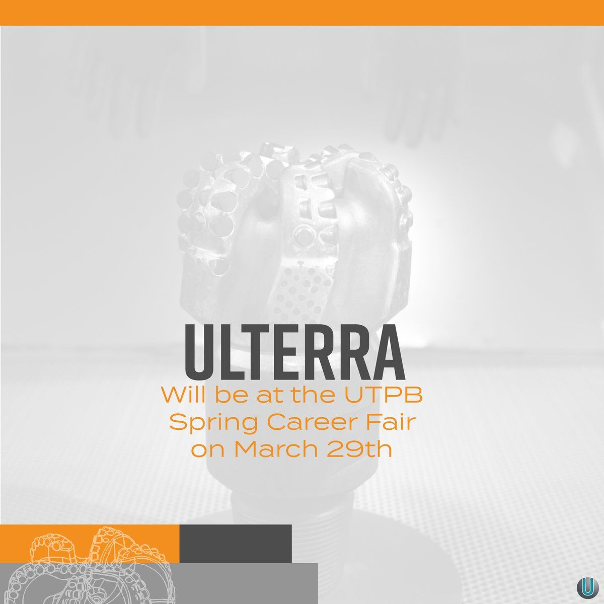 Stop by Ulterra's booth at the utpb Career Fair to find