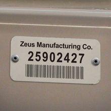 Metal Barcode tag