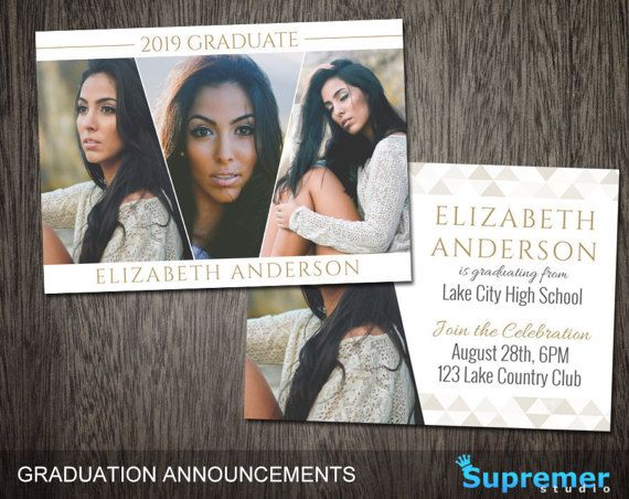Graduation Announcement Templates Senior Graduation  Senior