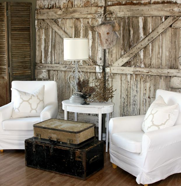 Vintage Farm Style Living Room At Salvage Dior