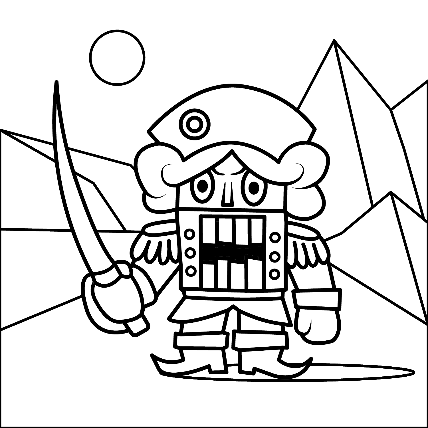 Nutcracker Coloring Page Coloring Book App Disney Cartoon Characters Disney Coloring Pages
