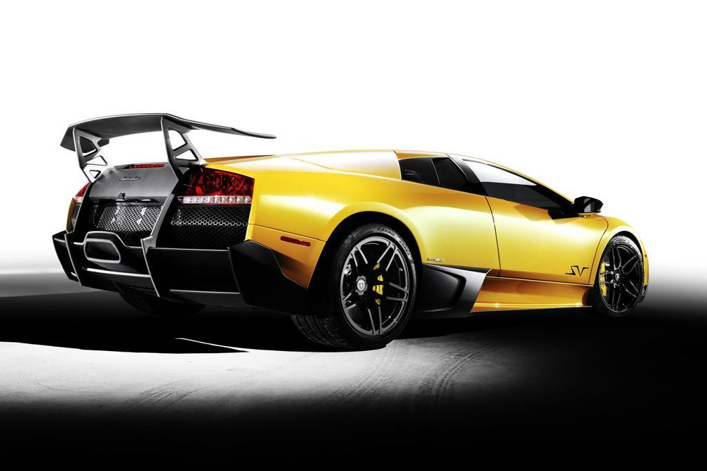Superior Lamborghini Murcielago LP SuperVeloce Car Poster Print On 10 Mil Archival  Satin Paper X