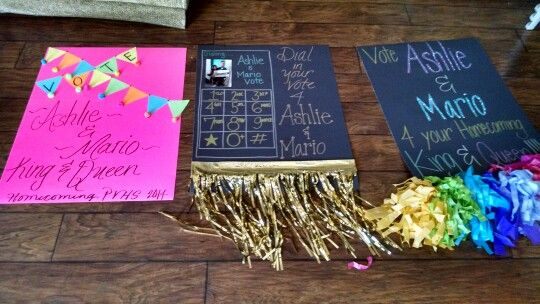 Homecoming posters | Miss junior idea | Pinterest ...