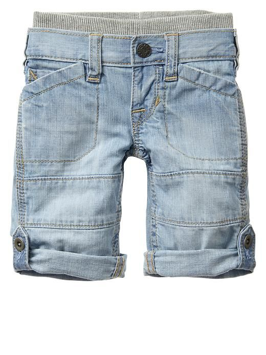 Gap Pull On Roll Up Jeans Pantalones Para Ninos Gabardina Para Ninos Ropa Para Ninas