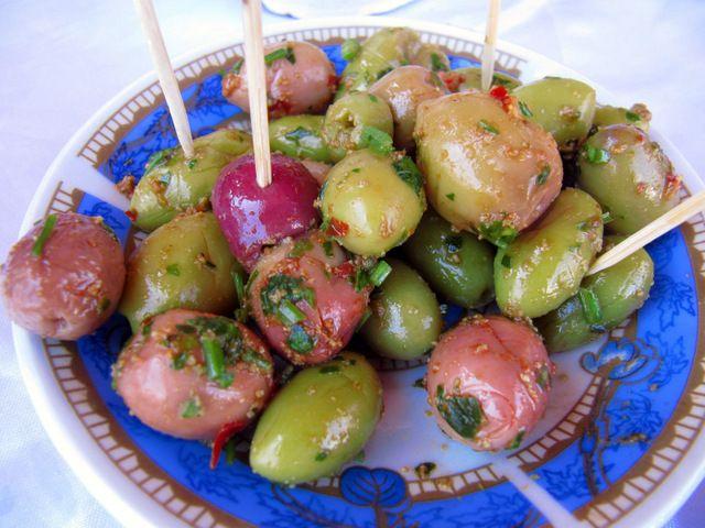 Day 239: Olives, Cafe Al Markaz, Dakhla (Western Sahara(
