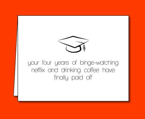 funny college graduation card