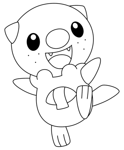 Click To See Printable Version Of Oshawott Pokemon Coloring Page Pokemon Coloring Pages Pokemon Coloring Pikachu Coloring Page